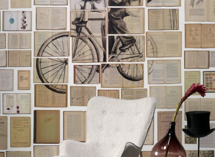 Обои NLXL Biblioteca Wallpaper